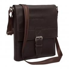 Lakestone Charles Brown., мужская сумка  через плечо