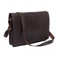 Lakestone Chestnut Brown., мужская сумка  через плечо