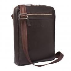 Lakestone Arden Brown., мужская сумка  через плечо