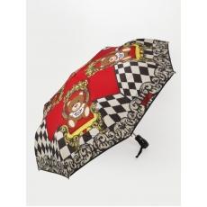 Женский зонт Moschino 8144 C rosso mini auto.
