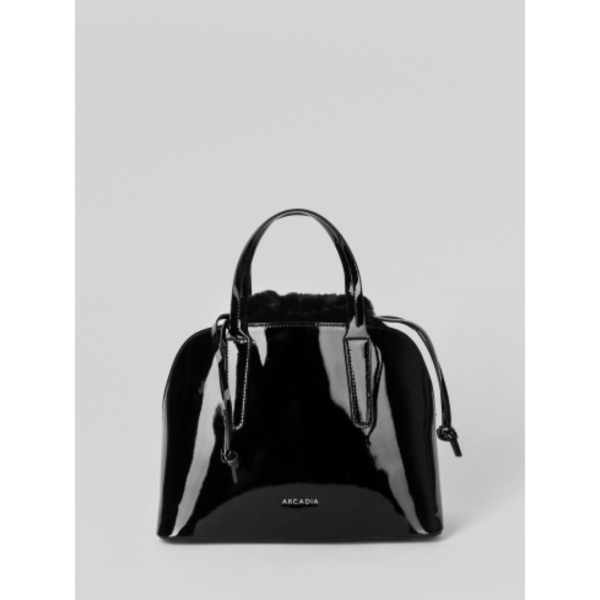 Arcadia 4708 patent nero., сумка., женская