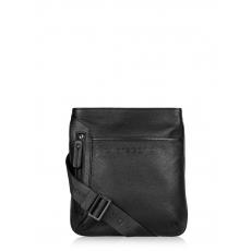 Di Gregorio 600 vitello ram nero., мужская сумка-планшет