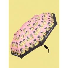Женский зонт Moschino 7001 N rosa mini auto.